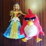 Een Barbie en een Angry Bird: mijn dochters kiezen compleet verschillende cadeaus