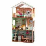 Ook een Kidkraft poppenhuis voor de oudste dochter