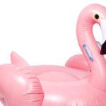 Wat een fantastisch fout ding: een opblaasbare roze Flamingo