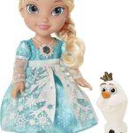 'Nee, de zingende Elsa pop mag niet mee in het vliegtuig!'