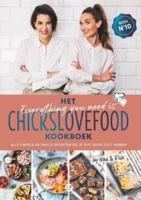het everything you need is Chickslovefood-kookboek