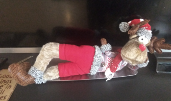kerstmeuk - rendier