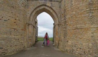 Het kasteel van Willem de Veroveraar in Falaise, Normandië