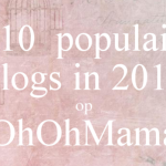 De populairste blogs van OhOhMama.nl in 2015