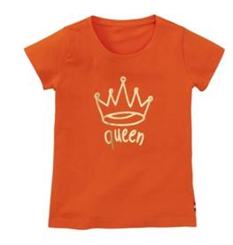 oranje shirt 'queen'